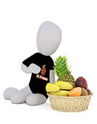 EL FRUTON: Canastas de frutas y verduras a domicilio 100% garantizado