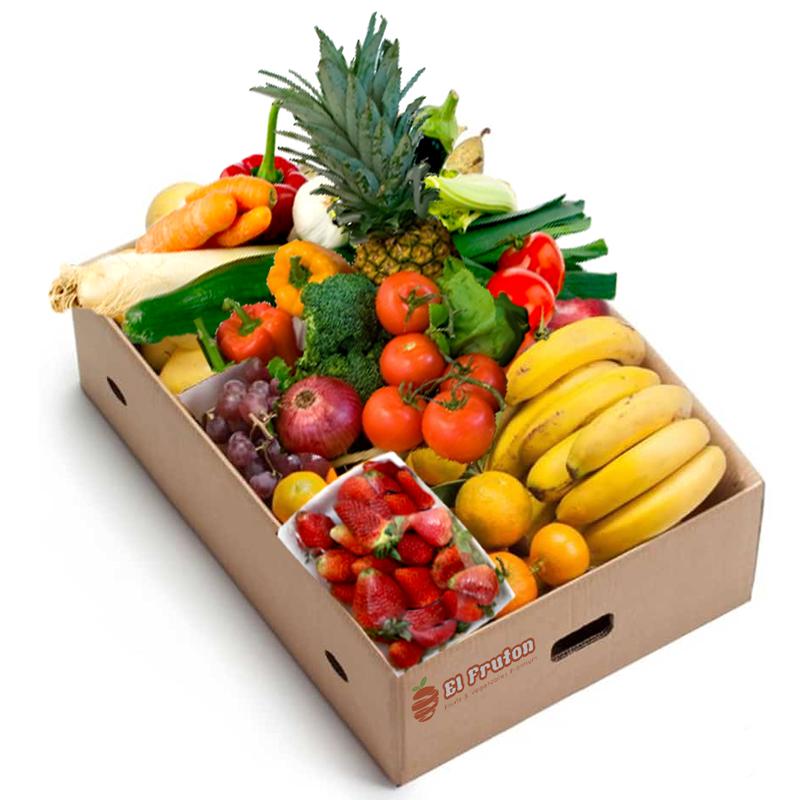 canasta de frutas y vegetales a domicilio en Quito