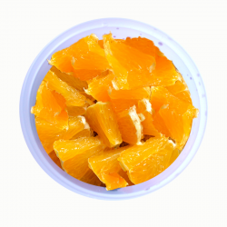 Naranja troceada