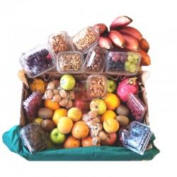 Canasta de frutas para regalar , regalo especial y saludable en Quito y Valles